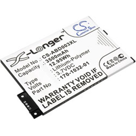 Replacement for AMAZON KINDLE PAPERWHITE 6 2015 BATTERY