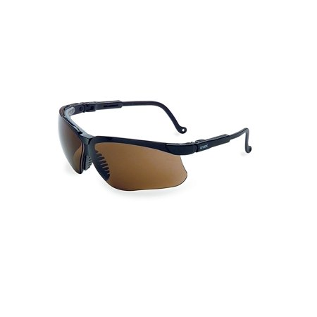 HONEYWELL UVEX Safety Glasses,Espresso S3201HS