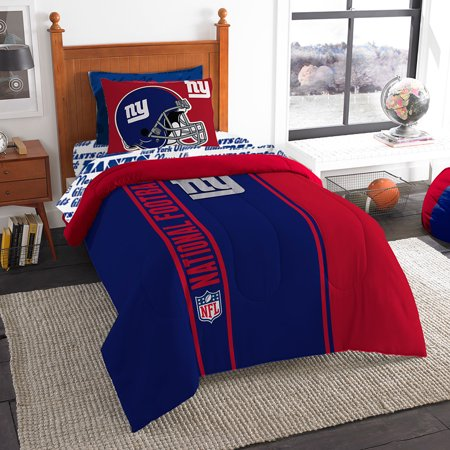New York Giants NFL Team Bed in a Bag (Twin) by