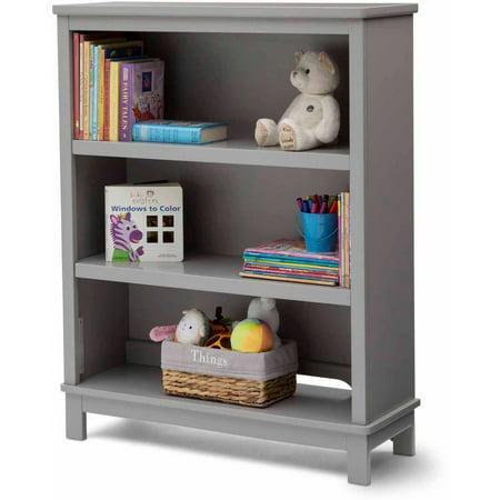 delta children 39 s products epic bookcase hutch gray. Black Bedroom Furniture Sets. Home Design Ideas