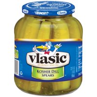 Vlasic: Dill Spears Kosher Pickles 32 Fl oz