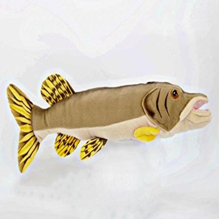 17 Northern Pike Fish Plush Stuffed Animal Toy - Plush Fish