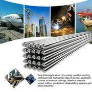 50PCS Low Temperature Aluminum Welding Wire Flux Cored 2mm*500mm Al Soldering Rod No Need Solder Powder