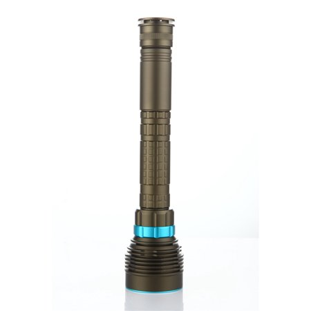18000LM 7 XML-T6 LED Strong Light Diving Flashlight Torch Professional Underwater Waterproof Light Tactical Lantern - image 5 of 8