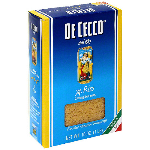 De Cecco Riso Macaroni, 16 oz (Pack of 20)