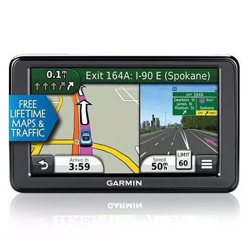 "Refurbished Garmin Nuvi 2555LMT 5"" GPS with Lifetime Maps & Traffic Updates"