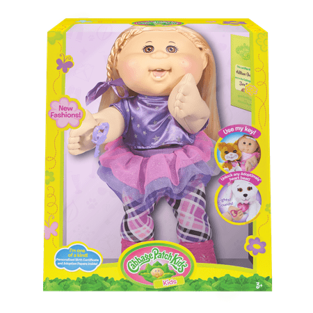 Cabbage Patch Kids Rocker Doll, Blonde Hair/Brown Eye Girl (Cabbage Patch Doll Patterns)