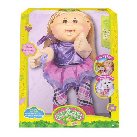 Cabbage Patch Kids Rocker Doll, Blonde Hair/Brown Eye Girl