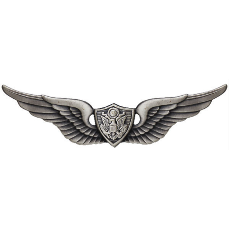 Army Aircrew Badge (Oxidized Finish)