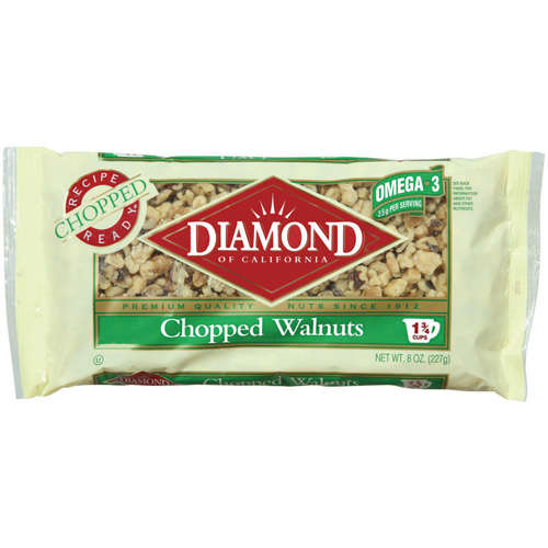 Diamond Of California Chopped Walnuts, 8 oz
