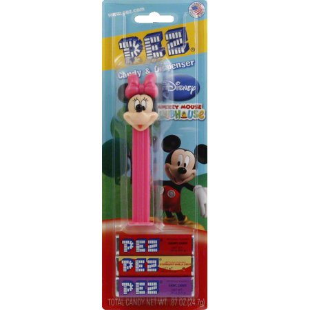 (5 Pack) Pez Candy, Disney Minnie Mouse Candy & Dispenser