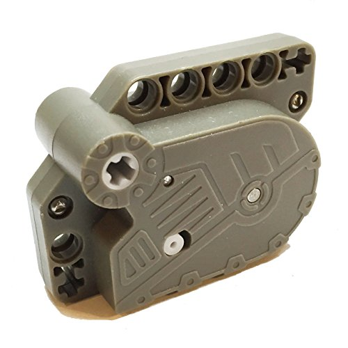 Lego Parts: Pullback Drome Racer Motor 7 x 5 x 3 (Dark Gray)