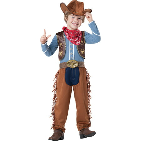 Boys Cowboy Halloween Costume - Boys Cowboy Fancy Dress