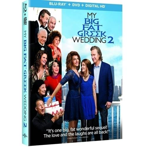My Big Fat Greek Wedding 2 (Blu-ray + DVD + Digital HD) (With INSTAWATCH)