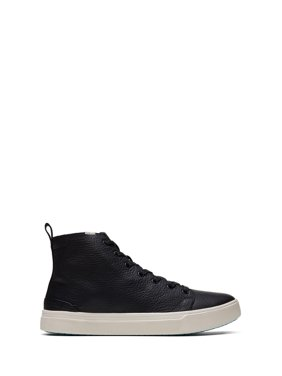 TOMS Men's Water-Resistant Leather TRVL LITE High Sneakers