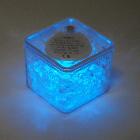 Led Icecubes (LED Ice Cubes Waterproof Submersible, 12-Piece,)