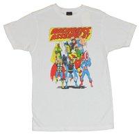 The Avengers (Hulk, Captain Amercia, Thor, Iron Man by Marvel Comics) Mens T