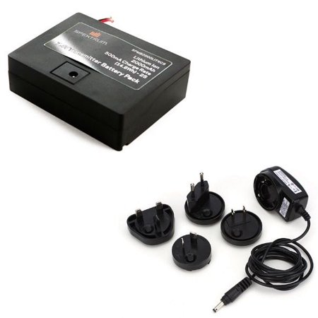 Spektrum A9603 2000mAh TX Battery with AC Adaptor Combo: DX6 G2-3/7G2/8G2/e