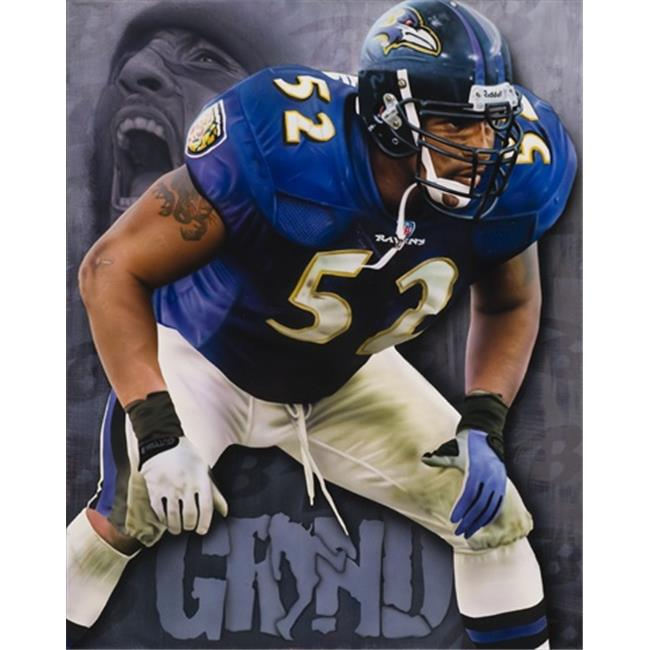 Deacon Jones Foundation RJ-05R Grind Art Print, by Rob Jackson - Rolled