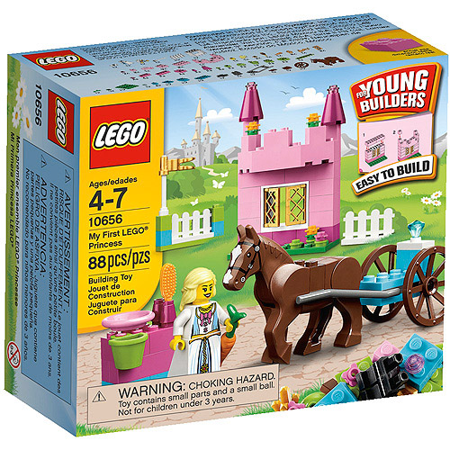 LEGO Bricks and More My First LEGO Princess Play Set