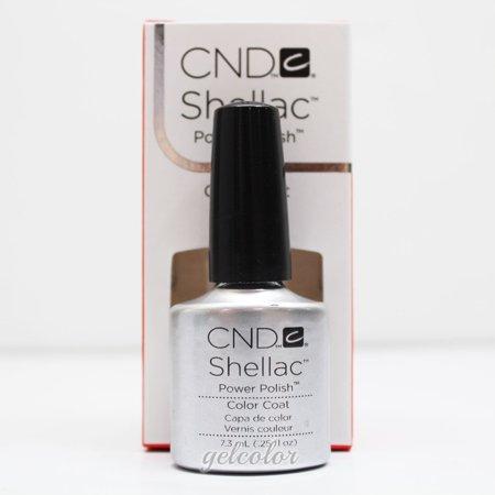 CND Shellac Gel Polish 0.25 oz - Silver Chrome Silver Staining Gel