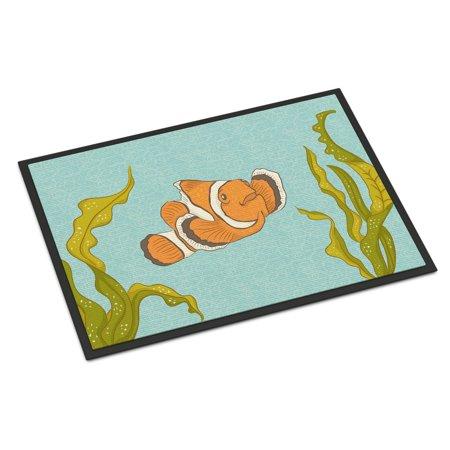 Diamond Clown Fish (Clown Fish Door Mat )