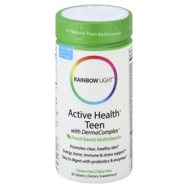 Rainbow Light Active Health™ Teen Multivitamin 90 Tab