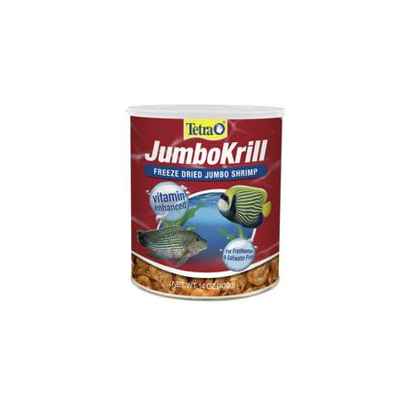 Tetra JumboKrill Freeze-dried Jumbo Shrimp 14.0 oz, 400 g