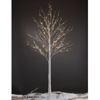 Lightshare 8 ft. 132 LEDs Birch Tree, Christmas Tree and Wedding Decoration, Warm White Lights
