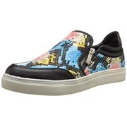 Wanted Shoes Women's Erie Fashion Sneaker, Black, 8.5 M US
