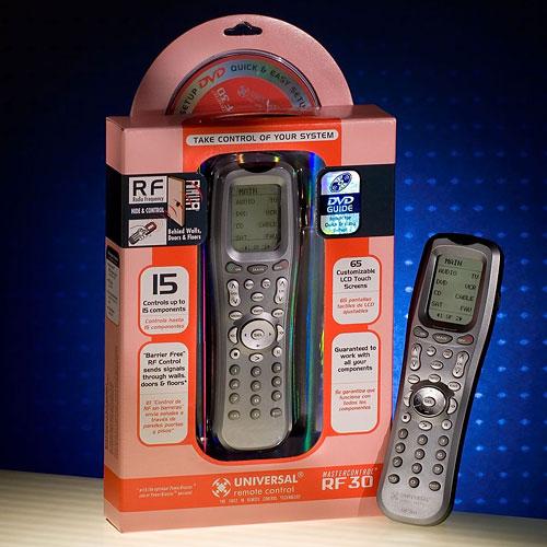 MasterControl Universal Remote Control, RF30