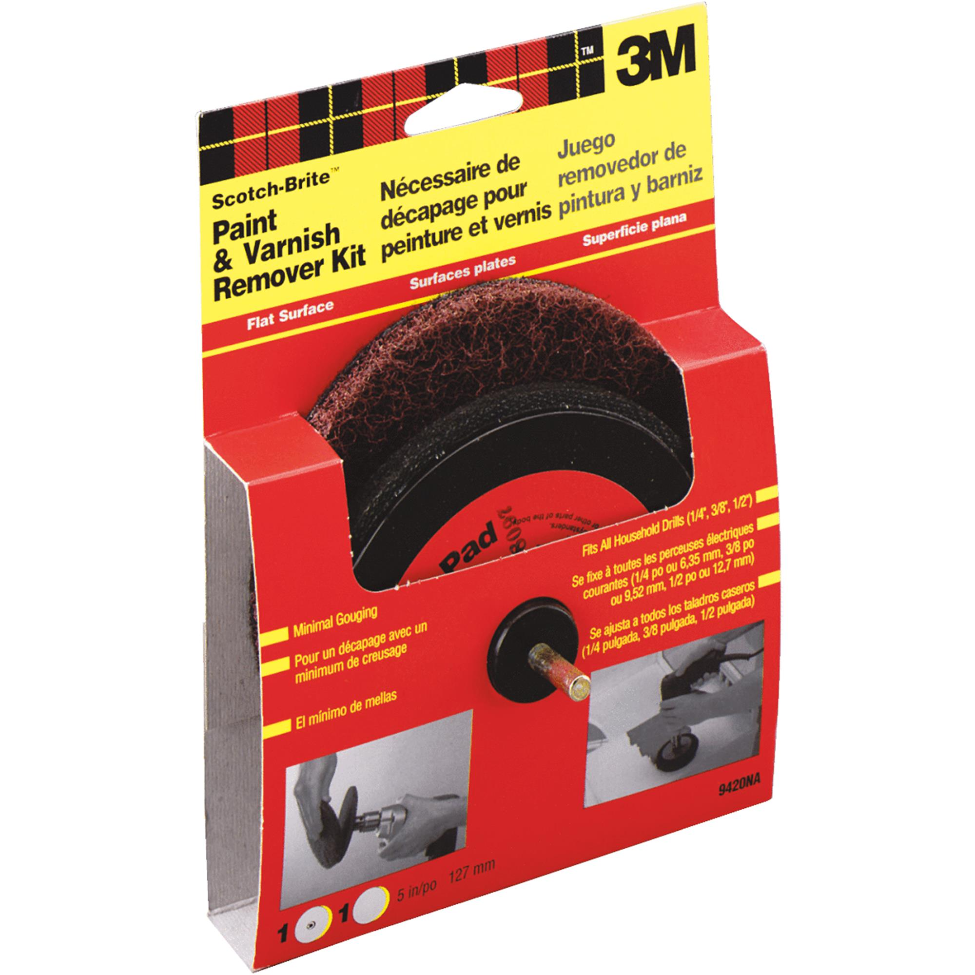 "3M 9420NA Scotch-Brite"" Paint & Varnish Remover Kit"