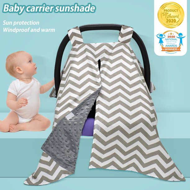 Lnkoo Carseat Canopy And Nursing Cover With Peekaboo Opening For Breastfeeding Cool Warm Weather Infant Car Seat Cover Winter Baby Gifts For Newborn Boys Girls For Breastfeeding Moms Walmart Com Walmart Com