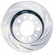 Strange STGB2793 11.25 in. Left Hand Replacement Slotted Rotor, Silver Cadmium Plated
