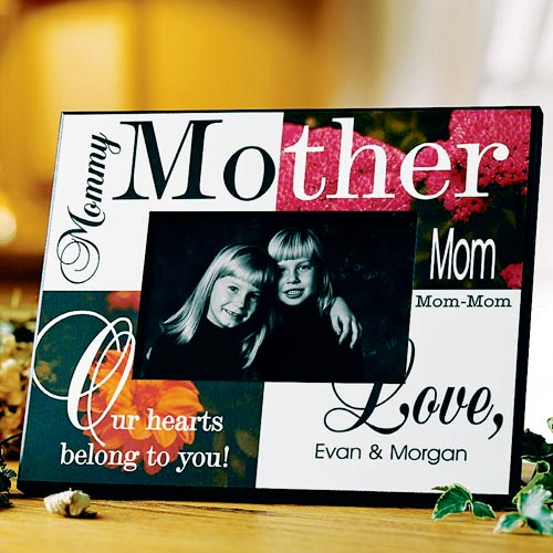 Personalized Colorful Mother Frame