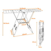 Costway Laundry Clothes Storage Drying Rack Portable Folding Dryer
