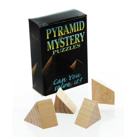 Rubies Pyramid Brain Teaser Wooden (Pyramid Brain Teaser)