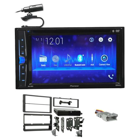 Pontiac Vibe Aftermarket (Pioneer DVD/CD Bluetooth Receiver iPhone/Android/USB For 2003-08 Pontiac Vibe )