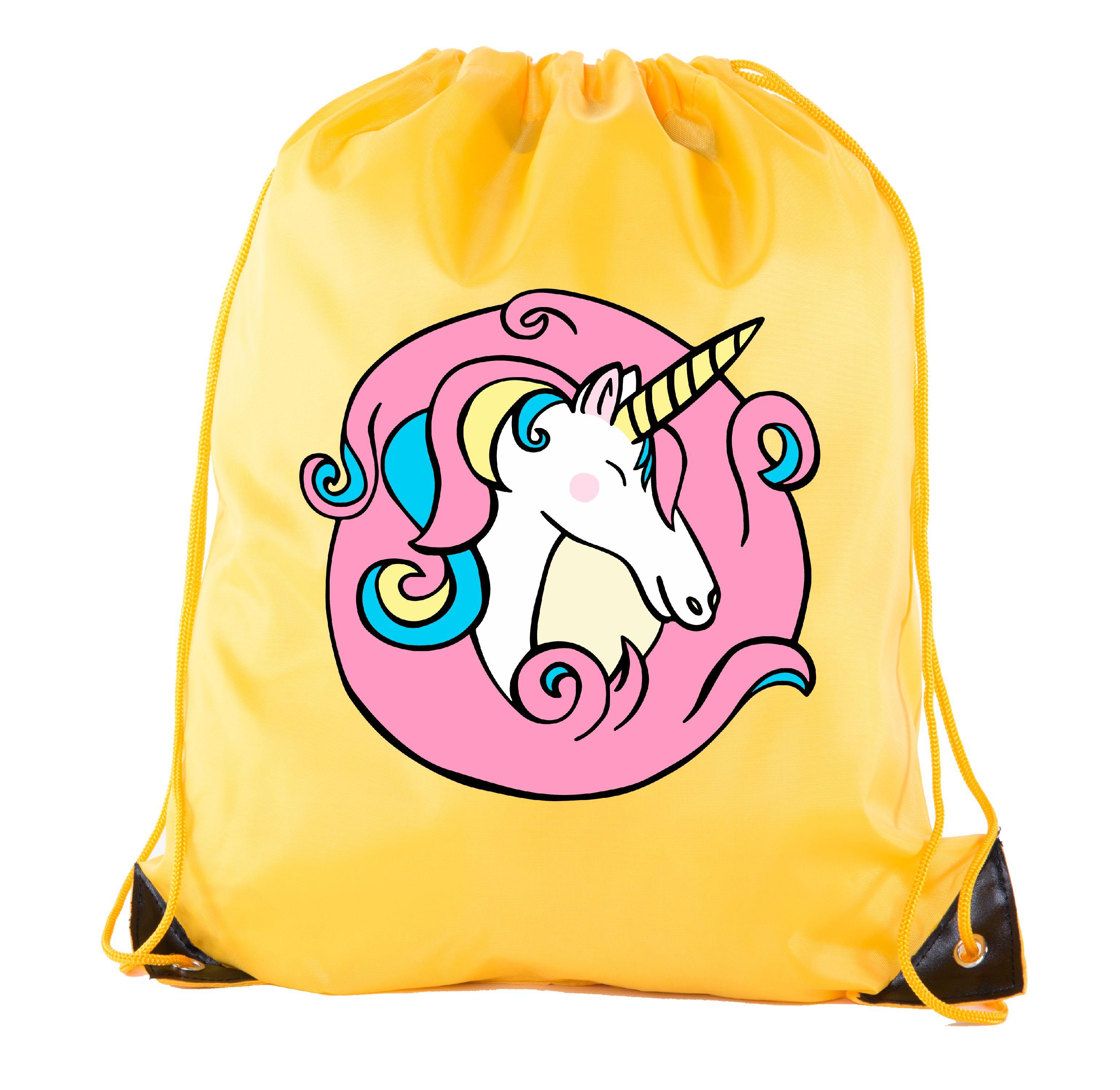 Unicorn Drawstring Bags Unicorn Treat Bags for Birthday Gift Bags & Baby Showers