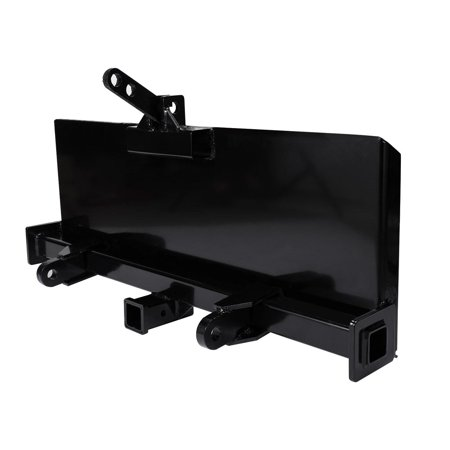 BEAMNOVA Skidsteer 3 Point Attachment Adapter Skid Steer hitch front loader  129 LB HD
