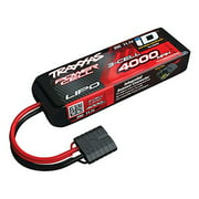 25C 11.1V 3S 3-Cell 4000mAh Lipo Battery Multi-Colored
