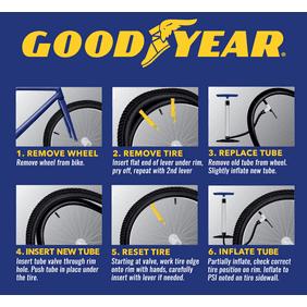 "2 1.75-2.125 Bicycle Rubber Tire Interior Cruiser 26/"" inch Inner Bike Tube"