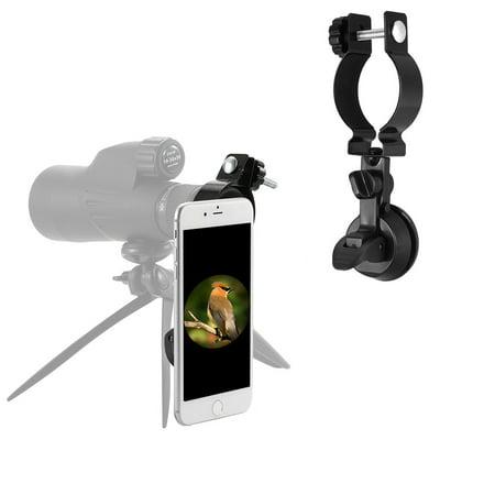 Eyeskey Spotting Scope Adapter Phone Mount Holder Compatible with Telescope Spotting Scope Binoculars (Best Hunting Spotting Scope For The Money)