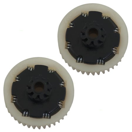 Pair Set of Power Window Lift Motor Gears 9 Tooth Replacement for Chrysler Dodge Eagle Pickup Truck Van SUV