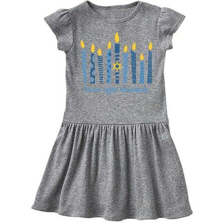 Hanukkah Dress - Peace Light Hanukkah Toddler Dress