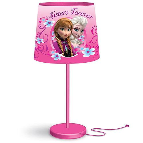 Disney Frozen Anna and Elsa Stick Table Lamp - Walmart.com