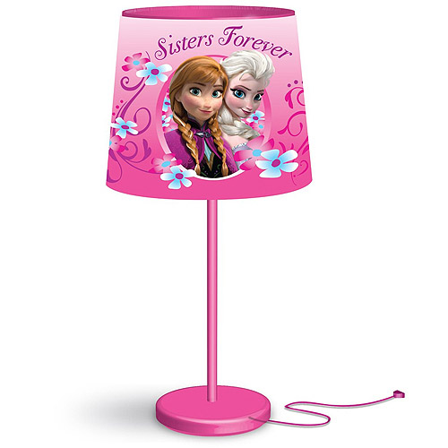 Disney Frozen Anna and Elsa Stick Table Lamp