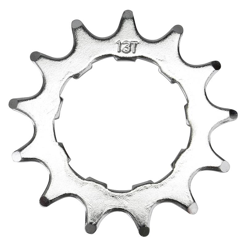 Origin-8 Single Speed Bicycle Cassette Cog Shimano/SRAM Spline Chrome 13T Bike