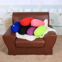 Micro Mini Microbead Back Cushion Roll Throw Pillow Travel Home Sleep Neck Support Comfortable,Pillow, travel seat pillow