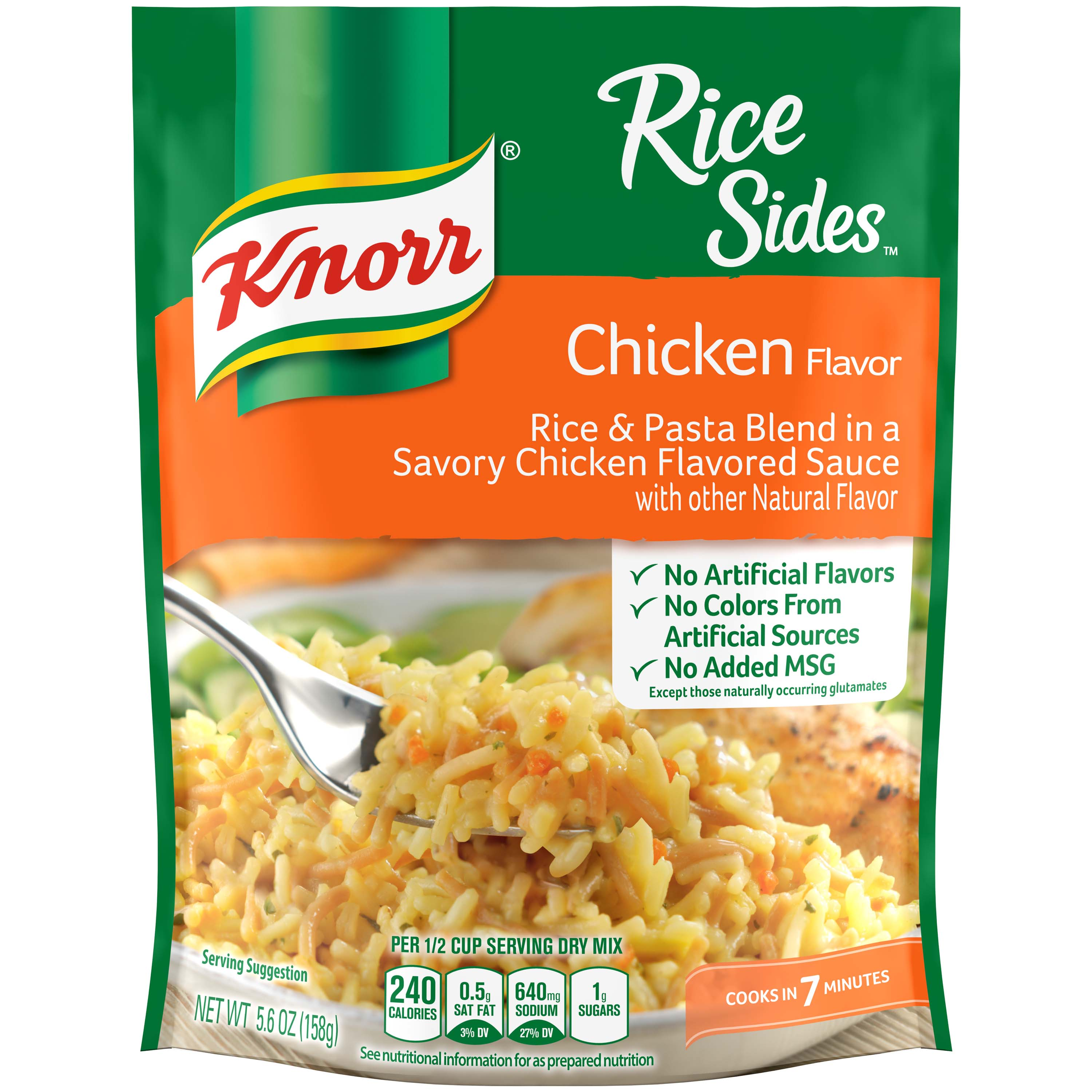Knorr Chicken Rice Side Dish, 5.6 oz